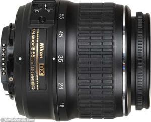 Nikon 18mm - 55mm DX lens